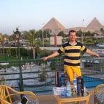 Jantar no Cairo… e as Grandes Pirâmides como cenário…