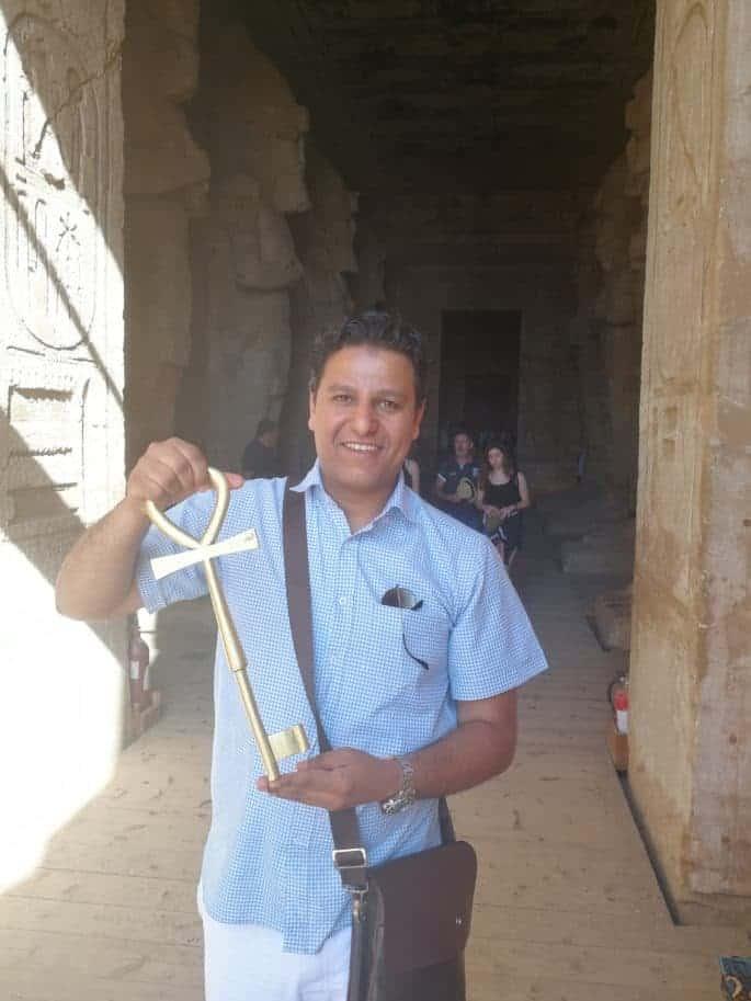 Guia de turismo egípcio Ihab