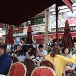 George V: bar-restaurante na Champs-Élysées