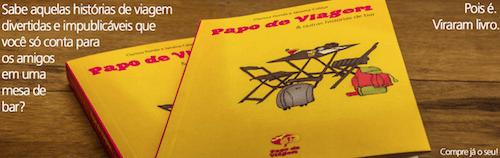 Livro Papos de Viagem