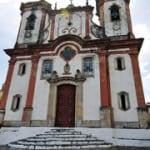 """""""Igreja de Aleijadinho"""" está fechada"""