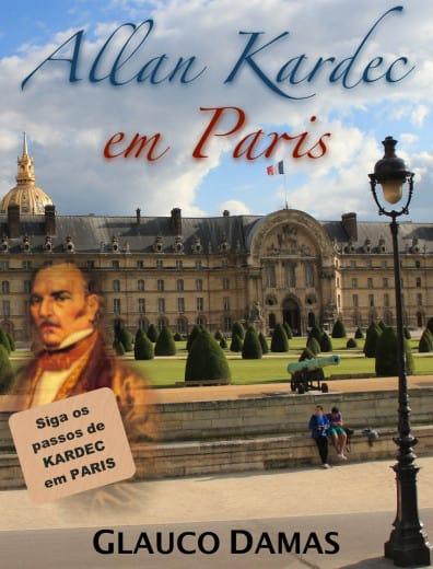 Capa do guia de viagem 'Allan Kardec em Paris'