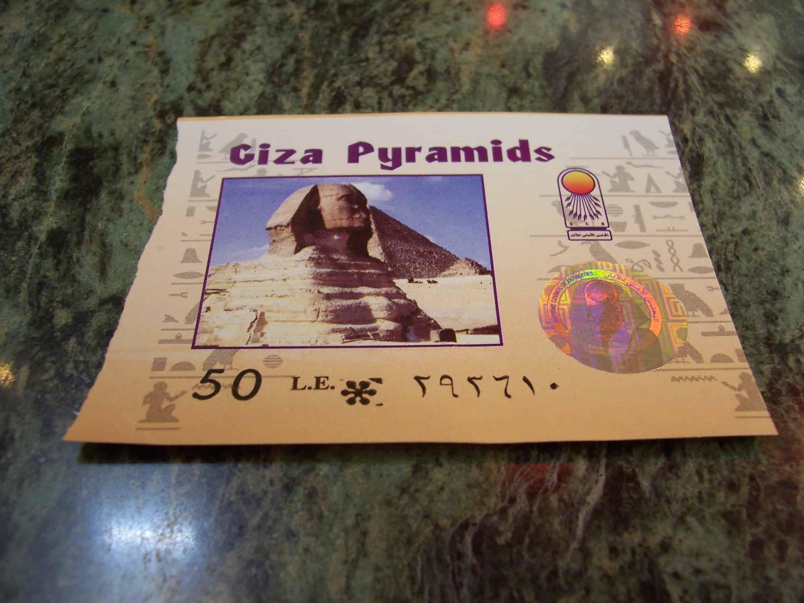 Resultado de imagem para fotos de ingressos da piramides