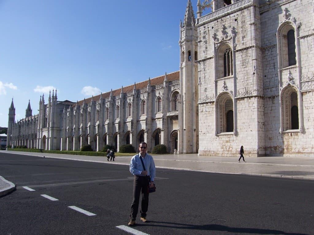 Fachada do Mosteiro dos Jerónimos.