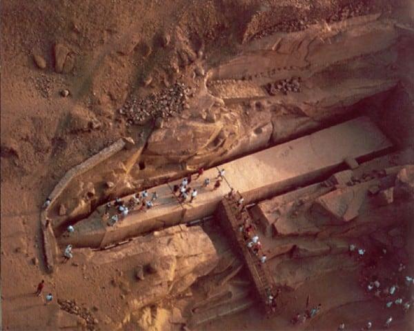 Obelisco Inacabado de Aswan, no Egito