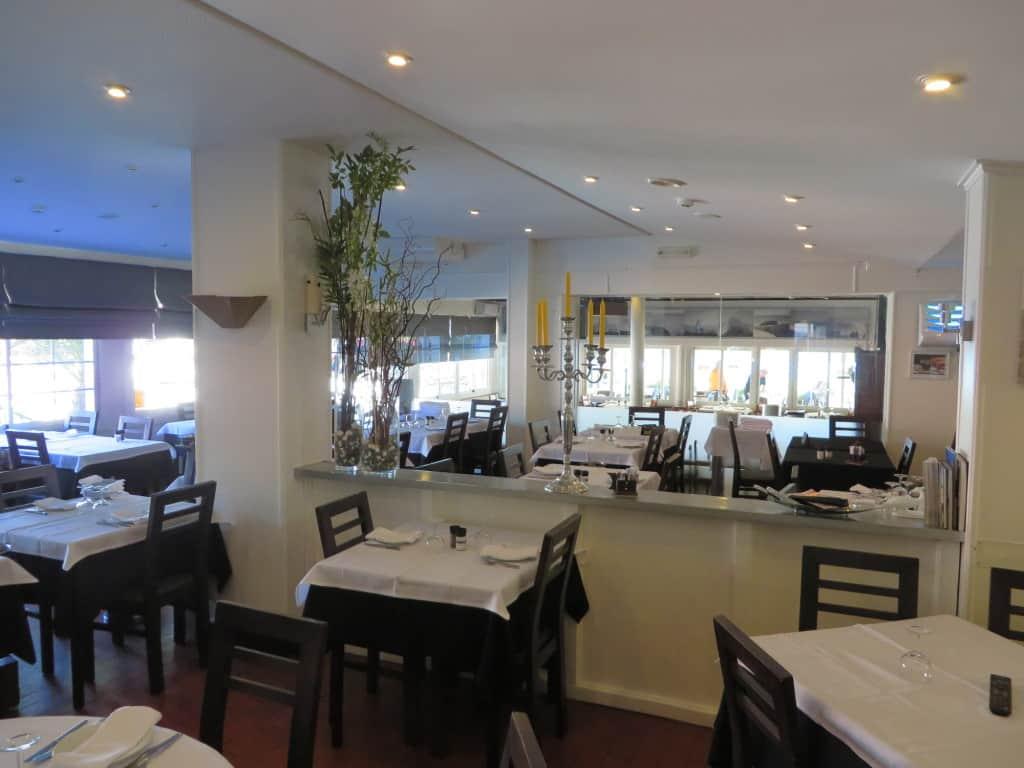 Salão principal do restaurante