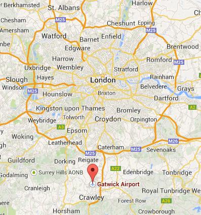 Restaurante de Jamie Oliver no Aeroporto Gatwick (Inglaterra)