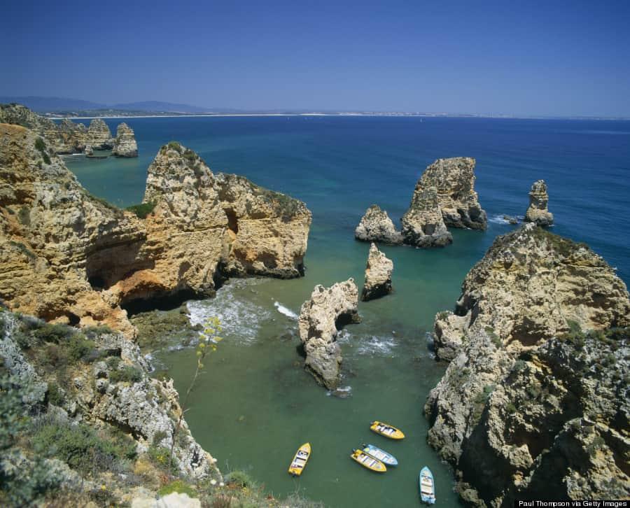 Ponta da Piedade, em Lagos, Algarve, Portugal: a praia mais bela do mundo