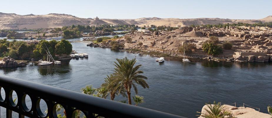 Hotel Old Cataract, no Egito