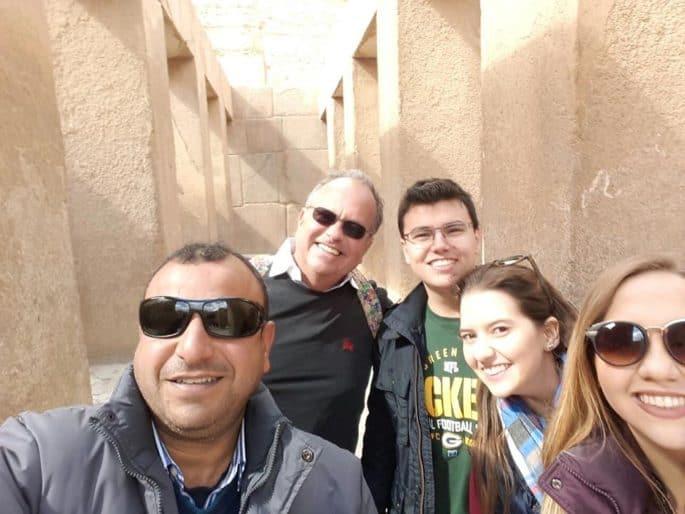 Usama Saber: guia de turismo no Egito