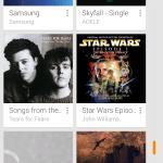 Play Music no Android: economize espaço na memória interna