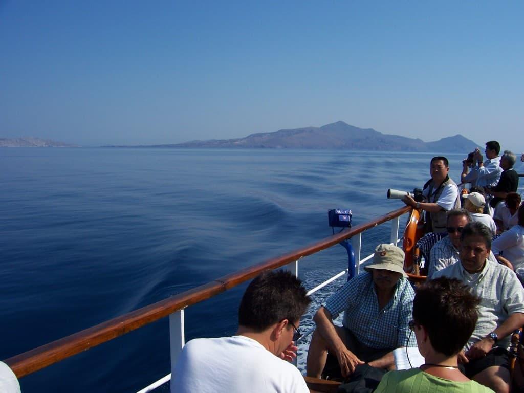 Passeio de navio pelas ilhas gregas