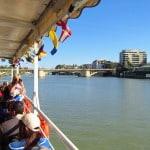 Sevilha, Espanha: passeio de barco no Rio Guadalquivir
