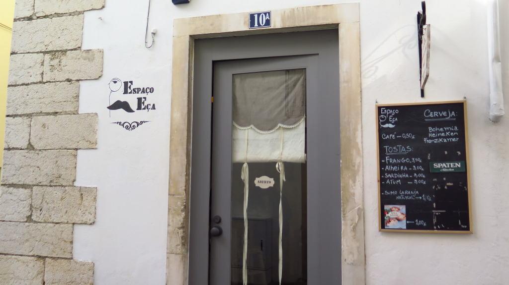 Cafetaria Espaço Eça, em Leiria