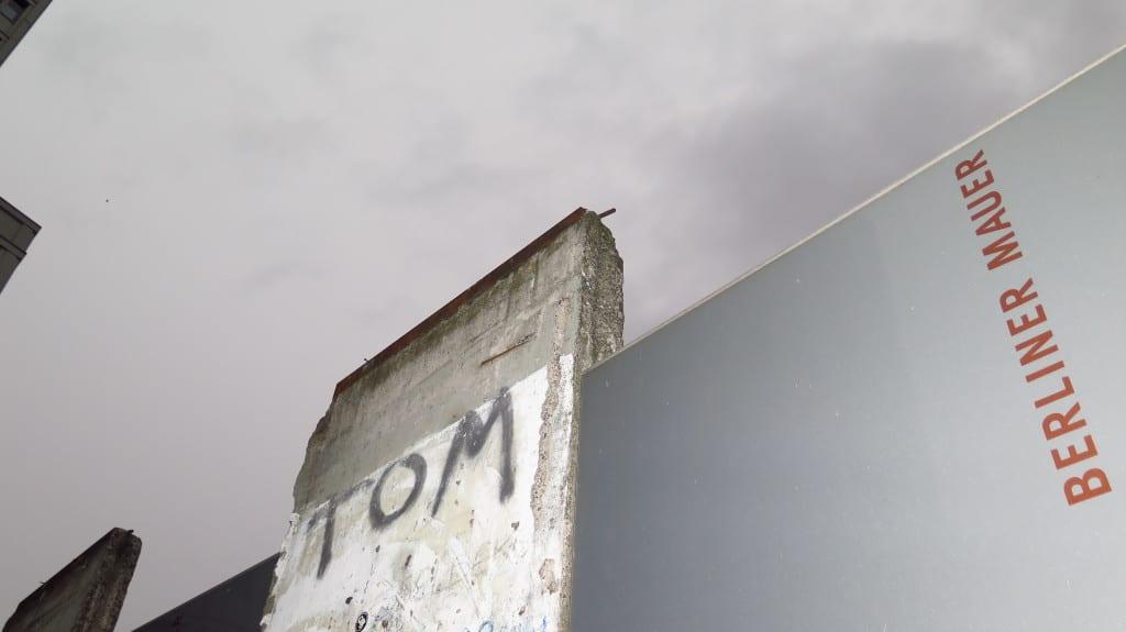 Veja uma parte do Muro de Berlim