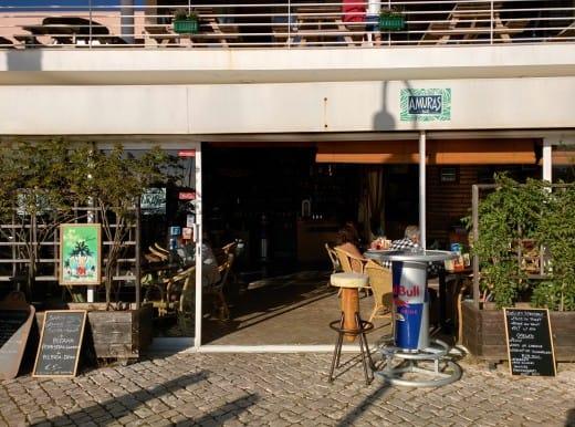 Amuras Bar, na Marina de Lagos (Algarve, Portugal)
