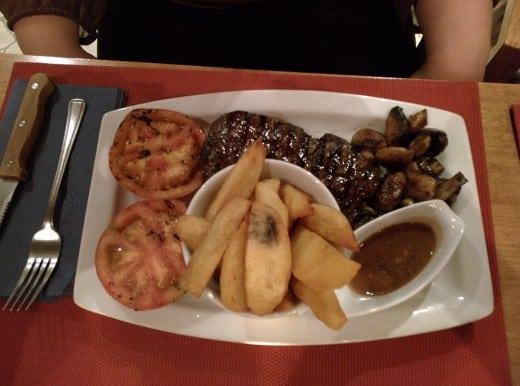 Restaurante Quay Lagos, na Marina de Lagos (Algarve, Portugal)
