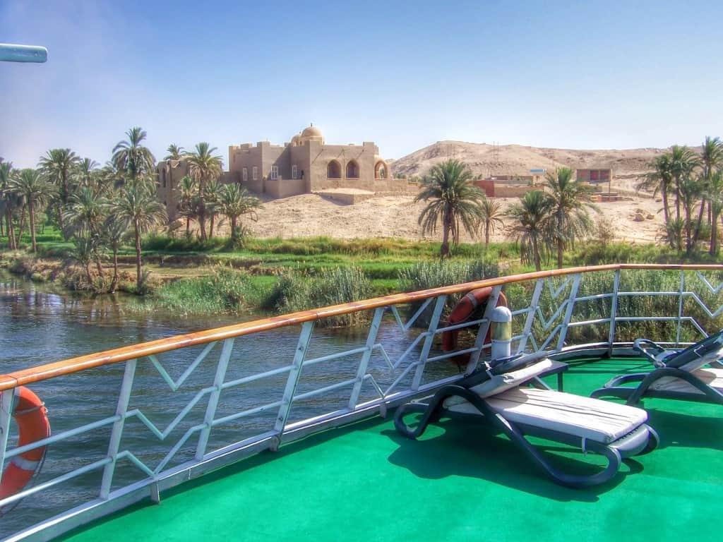 Cruzeiro no Rio Nilo, Egito