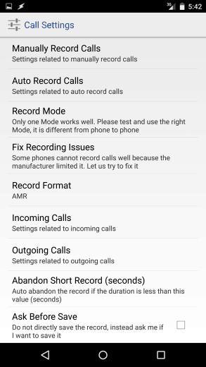 Boldbeast: grave conversas telefônicas em seu smartphone Android