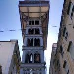 Elevador de Santa Justa, em Lisboa: a emoção de subir nele