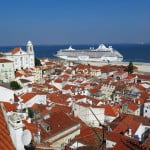 Miradouro das Portas do Sol, em Lisboa: vista fantástica