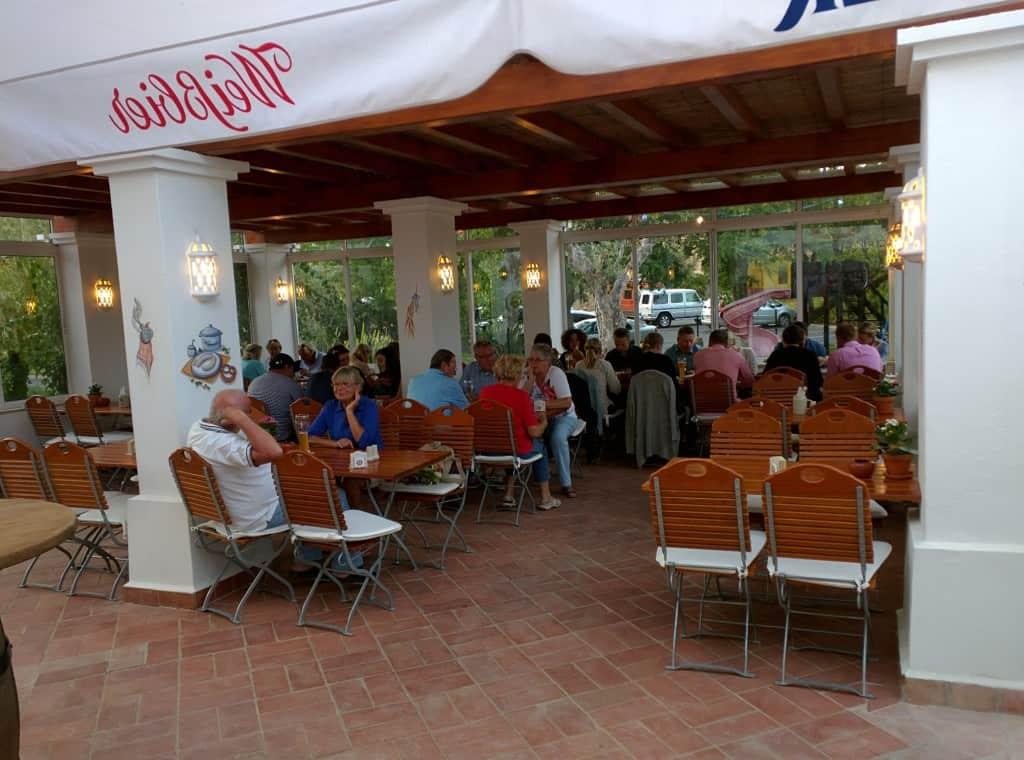 Vila Vita Biergarten, Porches, Algarve