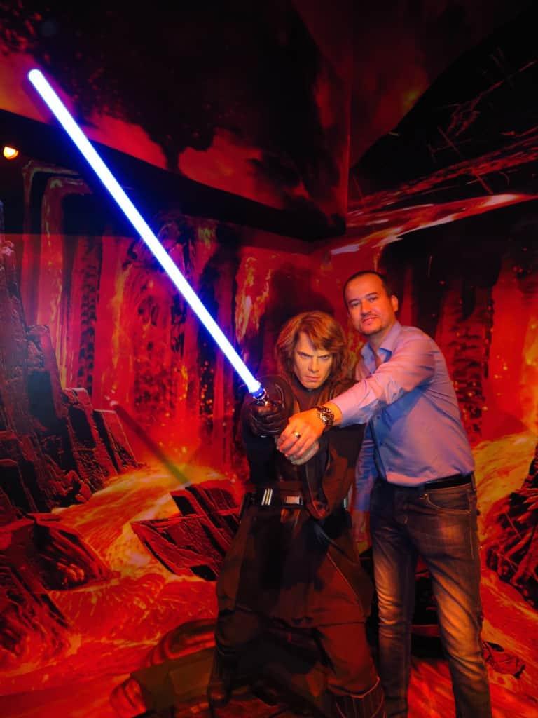 O futuro Darth Vader...