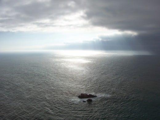 Sintra, Cabo da Roca: ponta mais ocidental do continente europeu