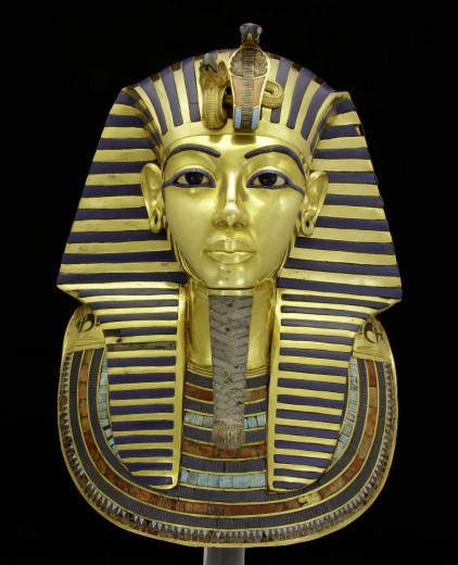 Máscara de Tutancâmon: foto em alta resolução