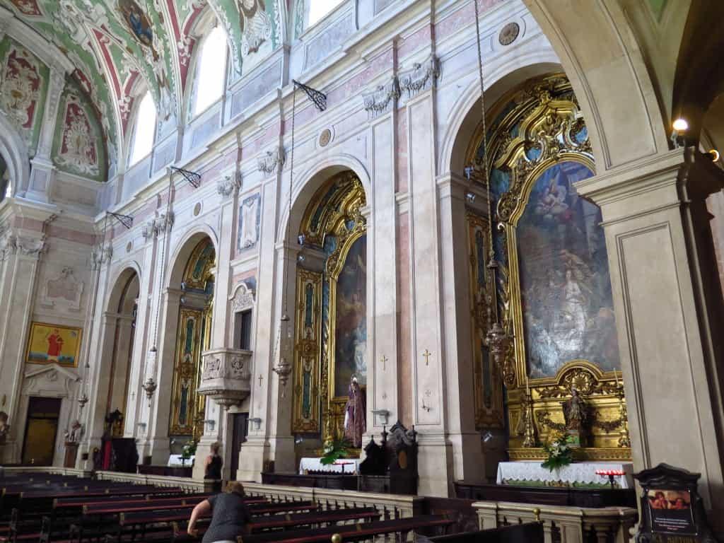 Basílica dos Mártires, em Lisboa: onde Fernando Pessoa foi batizado