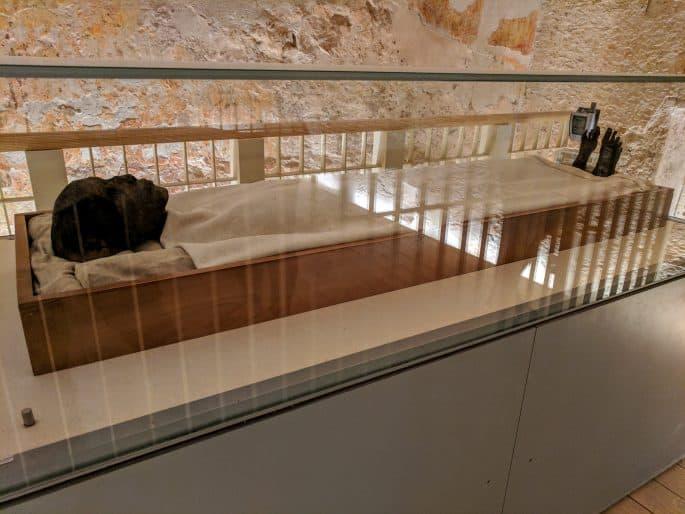 Corpo de Tutancamon