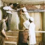 Fotos colorizadas da descoberta da tumba de Tutancâmon