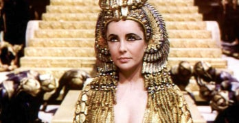 Onde está o corpo de Cleópatra?