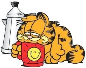 Garfield cansado