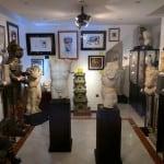Incrível loja de antiguidades em Sevilha