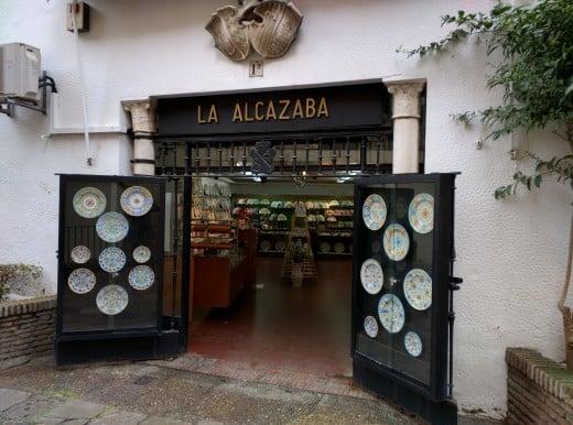 La Alcazaba | Pratos decorativos em Sevilha