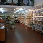 Loja de pratos decorativos em Sevilha