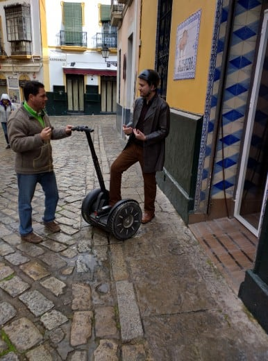 Transporte em Sevilha: Segway