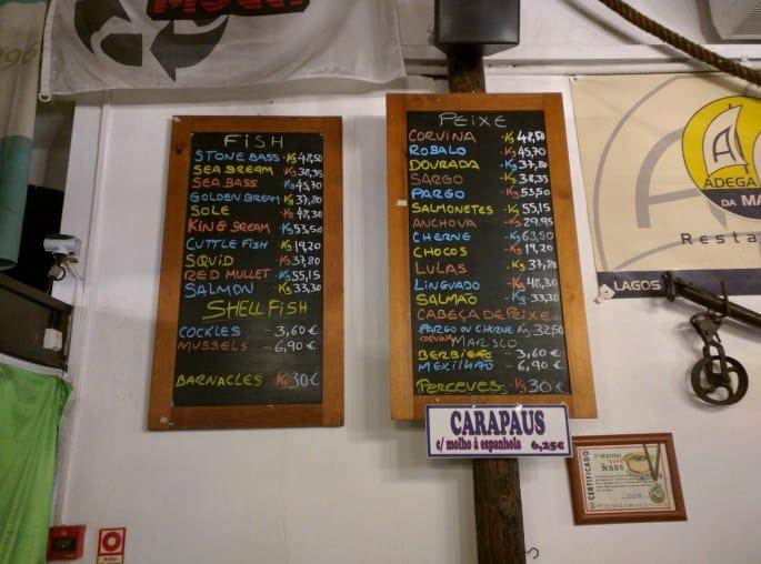 Restaurante Adega da Marina | Lagos, Algarve, Portugal
