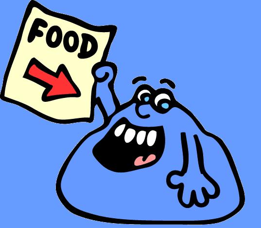 Quero comida | Fome