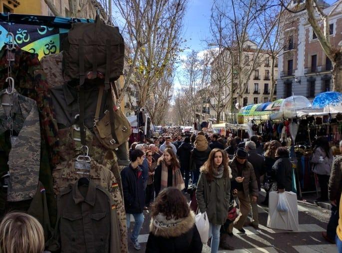 El Rastro | Mercado em Madri