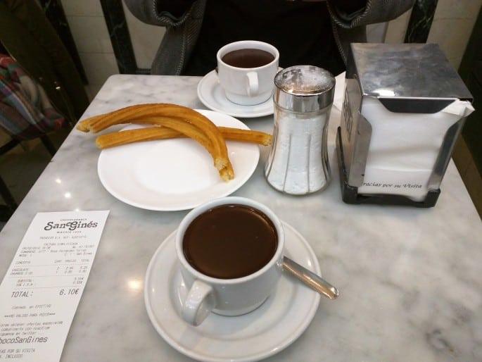 Chocolatería San Ginés | Madri