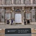 Cerimônia de Troca da Guarda no Palácio Real de Madri