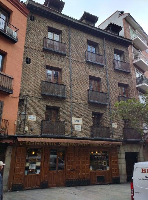 Restaurante Botín, em Madri