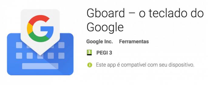 Gboard – Teclado Google