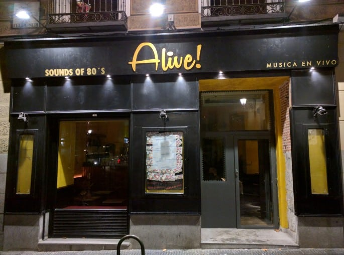 Alive Bar | Madri