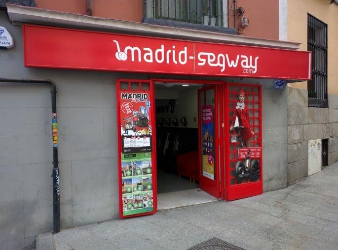 Transporte em Madri: Segway
