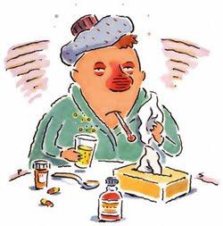 Gripe, resfriado, tosse, dor de garganta