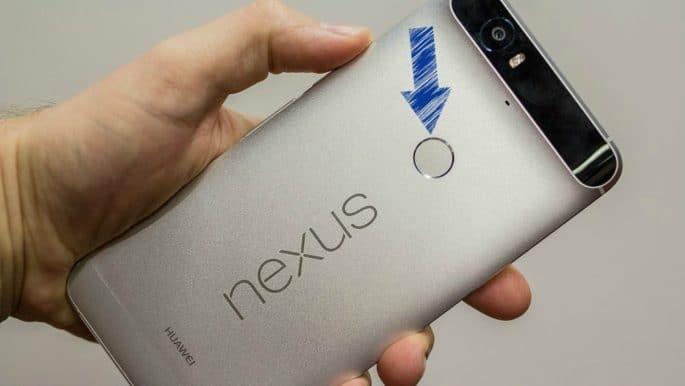 Nexus 6P | Leitor de impressão digital
