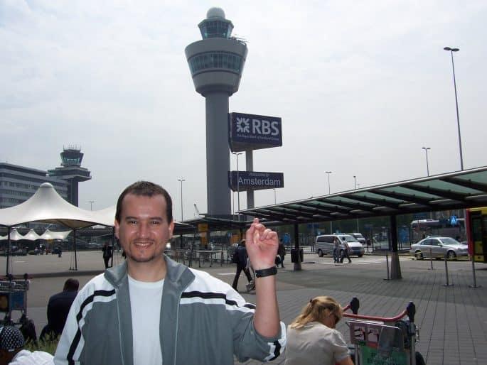 Torre no Aeroporto Schiphol